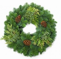 Deluxe Noble Fir Wreaths - Product Image
