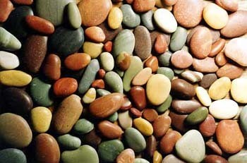 Pastel Colored Pebbles Gem Quality - Product Image