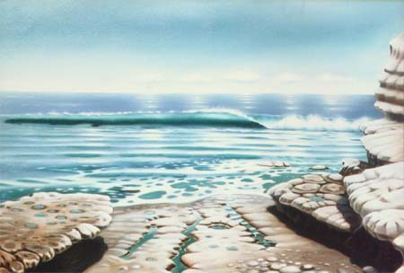Baja, oil on canvas by Mike Ebert